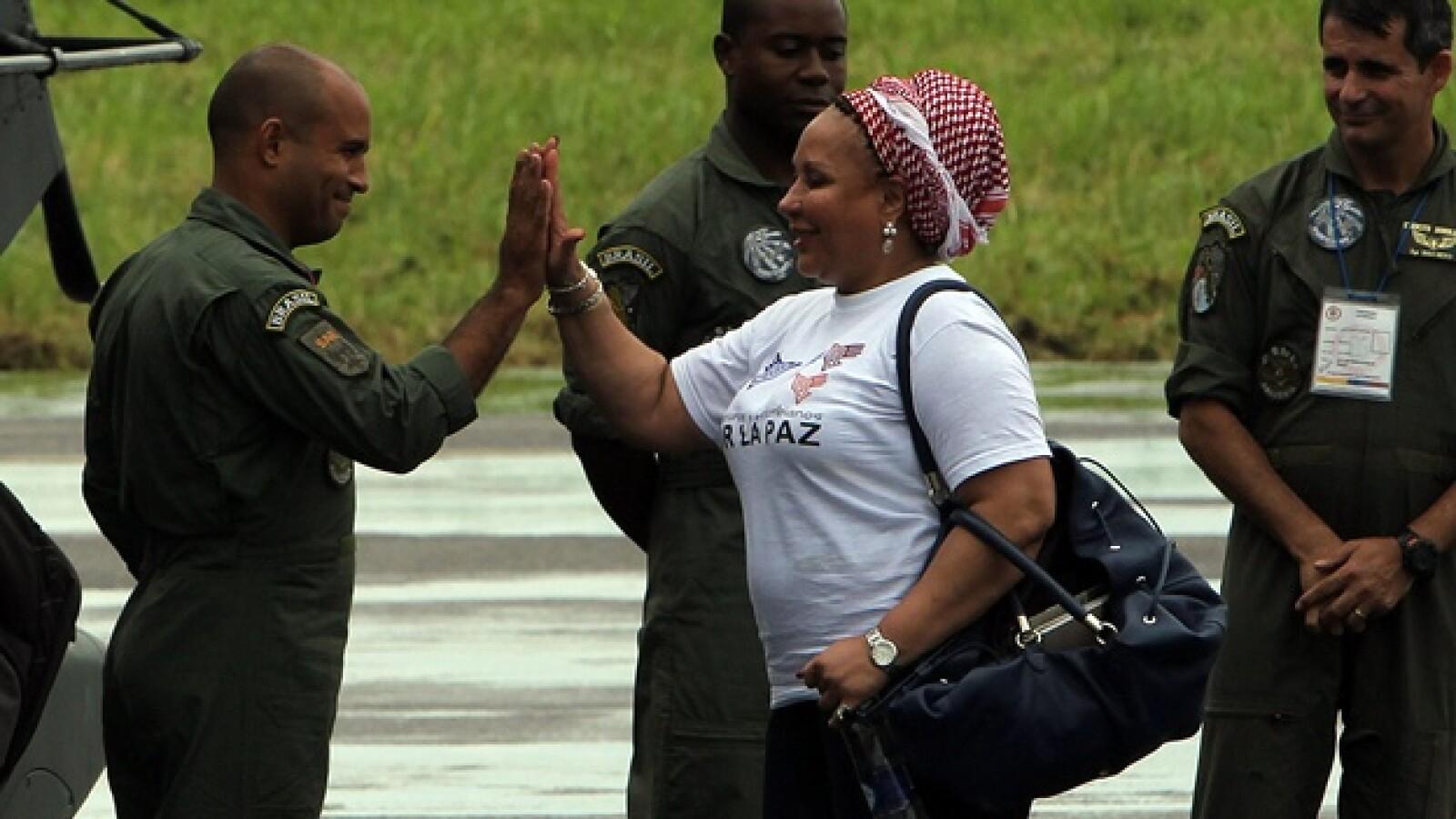 piedad cordoba militares policia farc liberacion