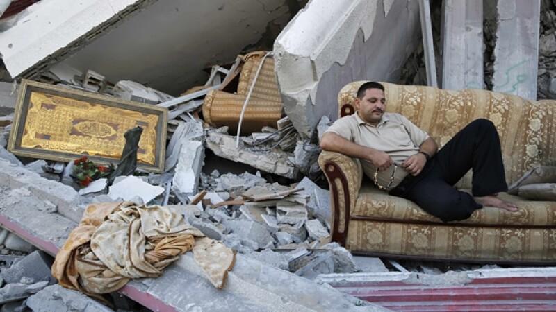 Gaza tregua casas daños