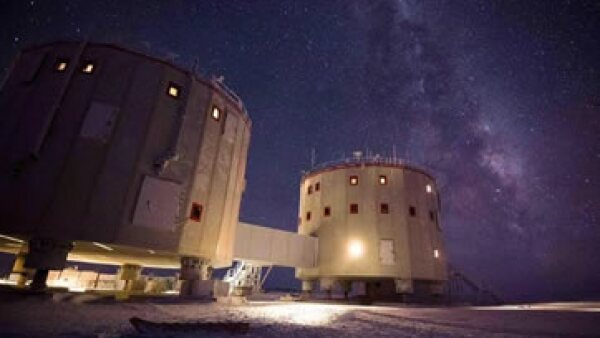 La estación de investigación Concordia en la Antártida. (Foto: ESA/Cortesía)