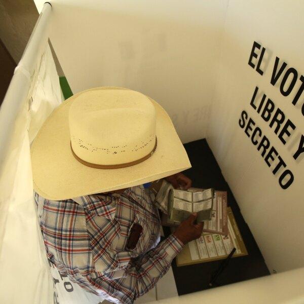 Voto libre y secreto