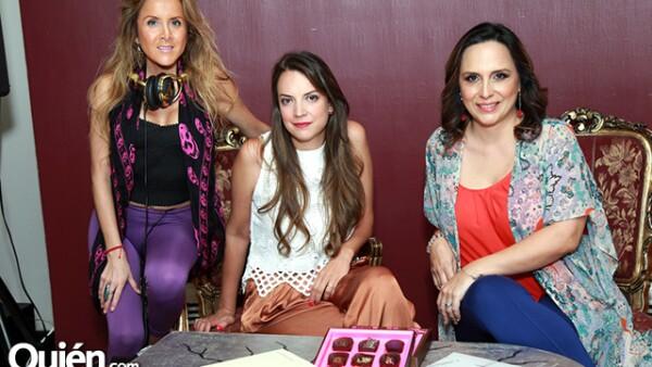 Dany Serna,Daniela Santos y Verónica Marcos