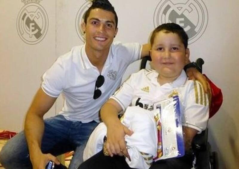 Cristiano intentó salvar la vida de este niño pero fue demasiado tarde.
