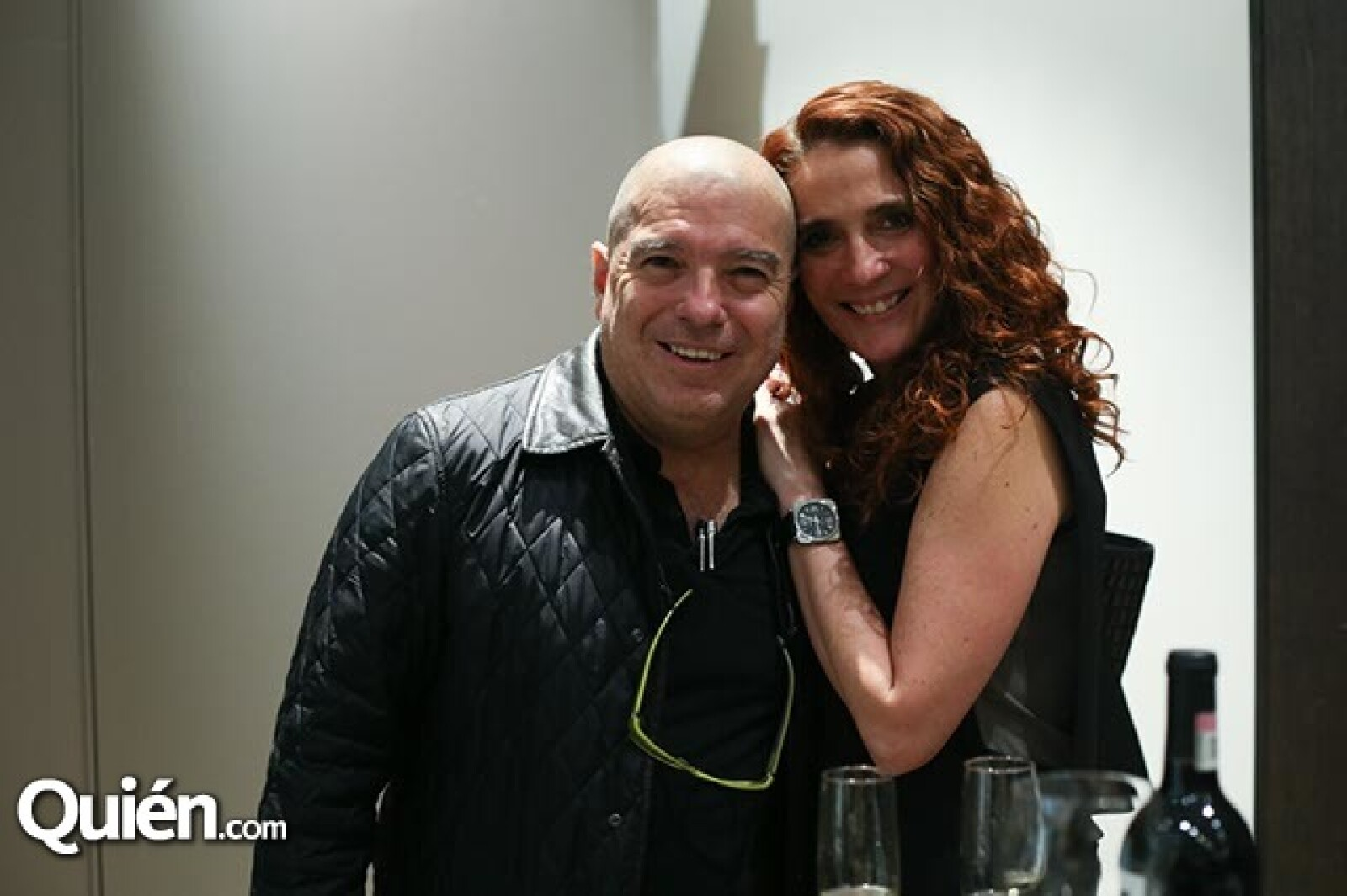 Alejandro Elizondo y Gabriela Berho