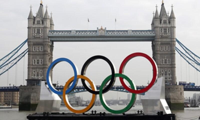 Las Olimpiadas se realizarán del 27 de julio al 12 de agosto en Londres. (Foto: AP)
