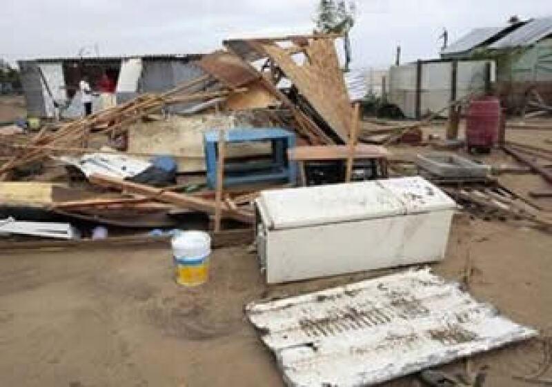 Aunque en huracán bajó su intensidsad, ocasionó destrozos a su paso. (Foto: Reuters)
