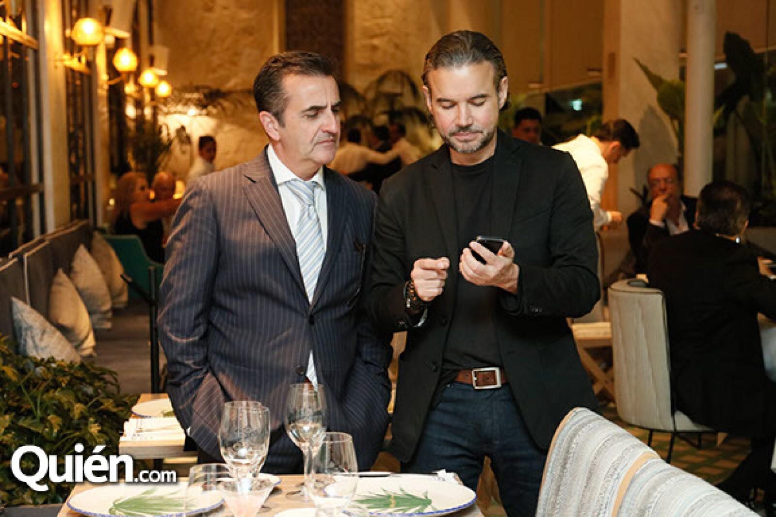 Carlos Morales y Kalemo Calderon
