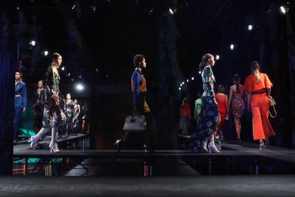 Diane Von Furstenberg presentation, Spring Summer 2018, New York Fashion Week, USA - 10 Sep 2017