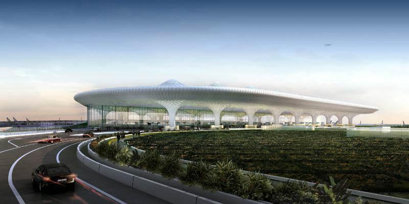 Terminal 2 Aeropuerto Internacional INdia