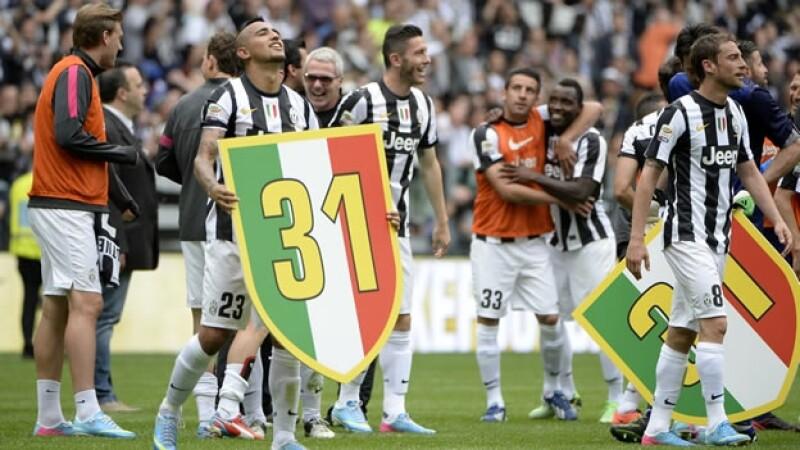 Juventus gana su título 31 en Italia
