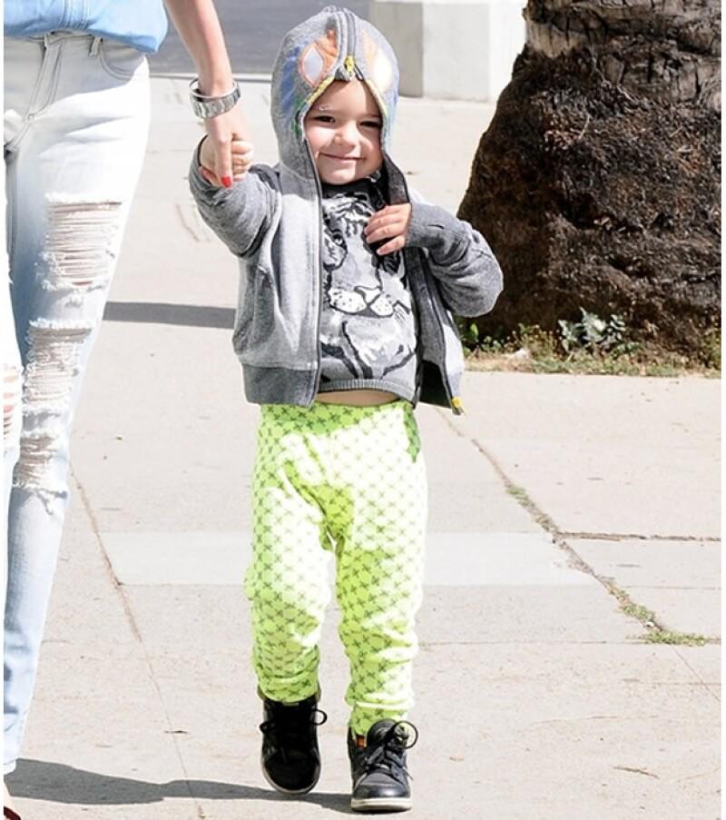 Flynn es uno de los bebés favoritos de Hollywood.