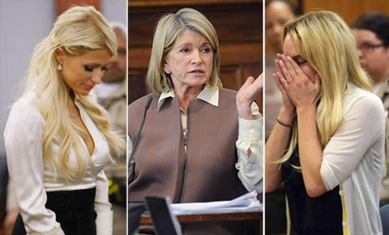 Un día como hoy, de hace 6 años, Lindsay Lohan fue condenada a prisión, por lo que hacemos un repaso en la historia de tres famosas que pisaron la cárcel.
