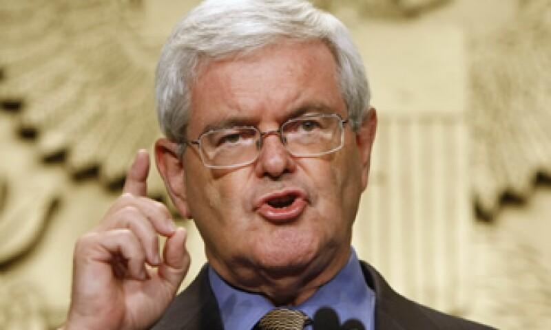 La declaración de Gingrich también mostró que en 2010 pagó en pensión alimenticia 20,000 dólares. (Foto: AP)