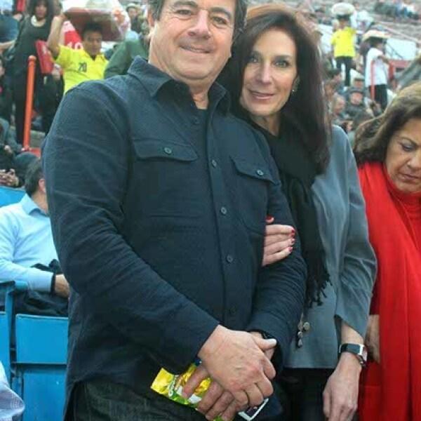 Raúl y Marcela Saviñon