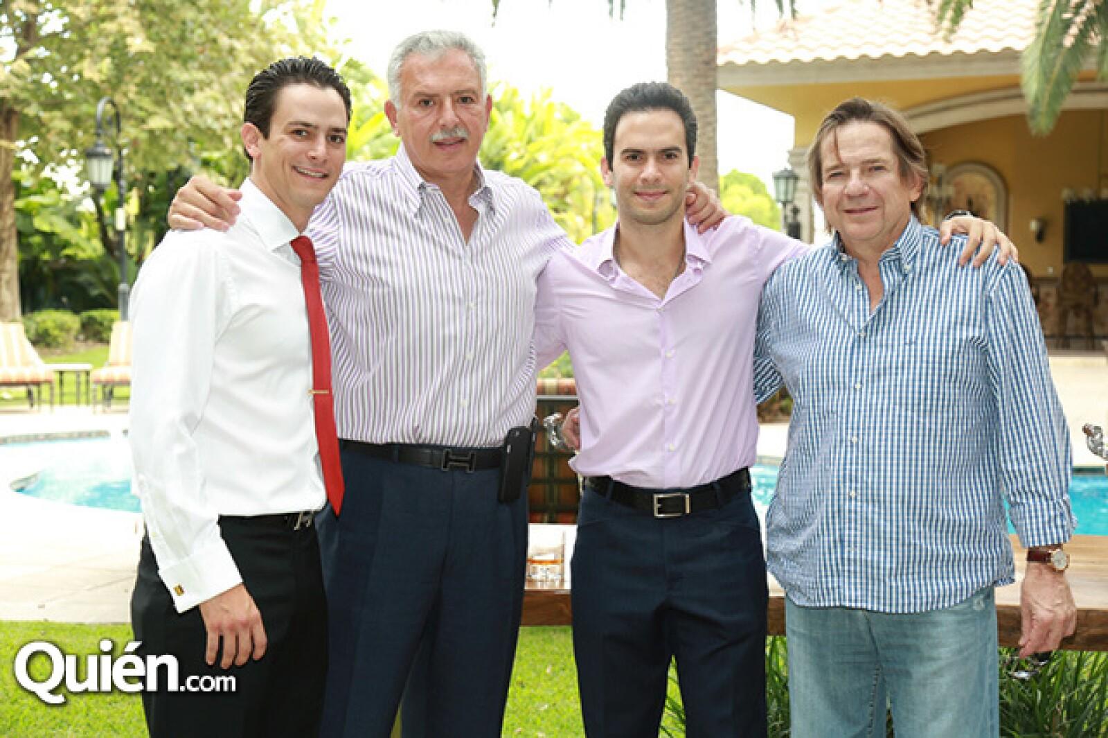 Emilio Califa,Víctor Califa,Víctor Califa Carranza y Sergio Gutiérrez