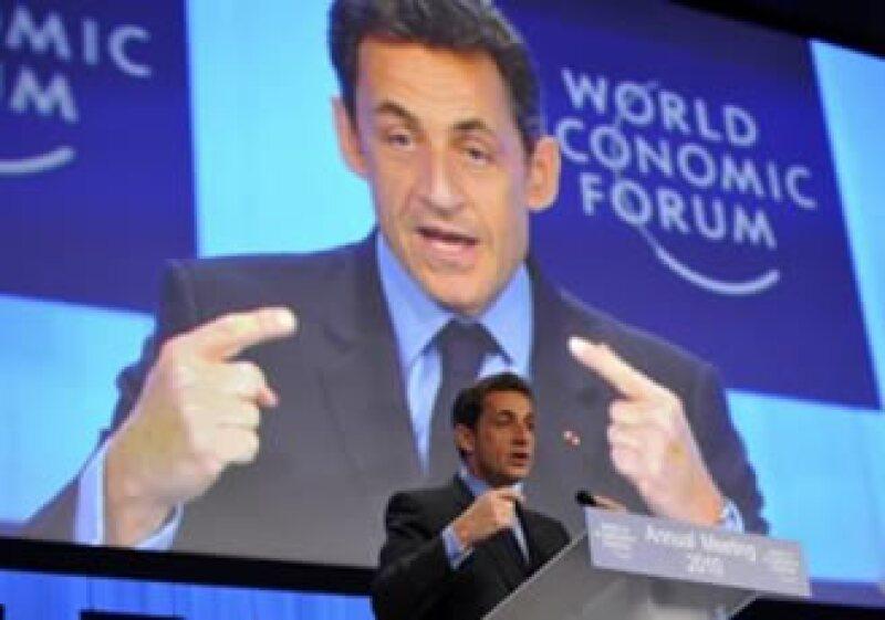 Nicolas Sarkozy criticó las ganancias que han reportado los bancos mundiales. (Foto: Reuters)