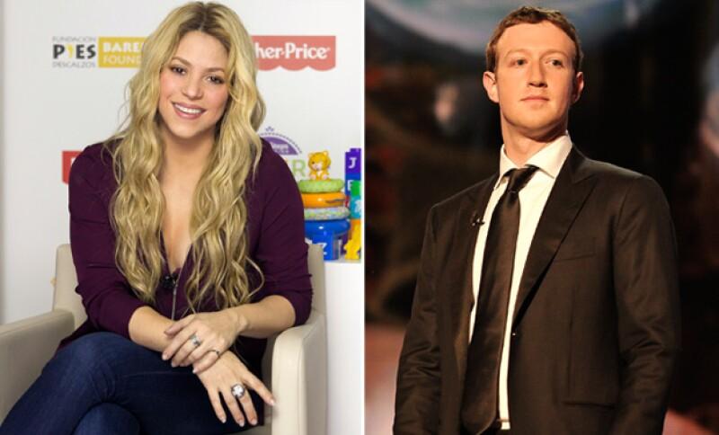 Shakira es una de las famosas con más followers en esta red social.