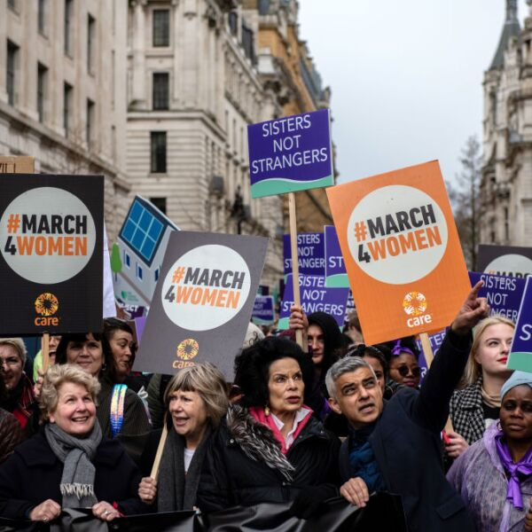 International Women's Day March - London