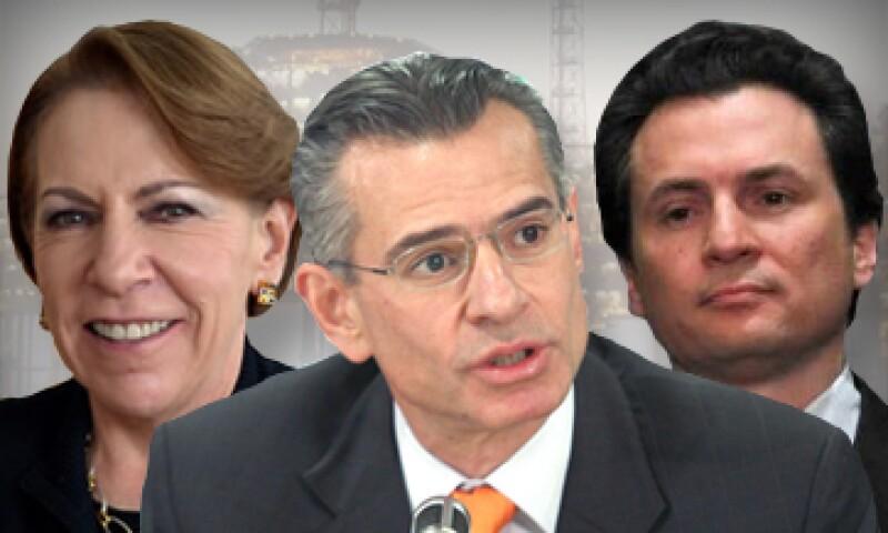 Georgina Kessel y Juan José Suárez son consejeros de empresas  privadas del sector energético. El director de Pemex, Emilio Lozoya fue consejero de OHL México. (Foto: Especial)