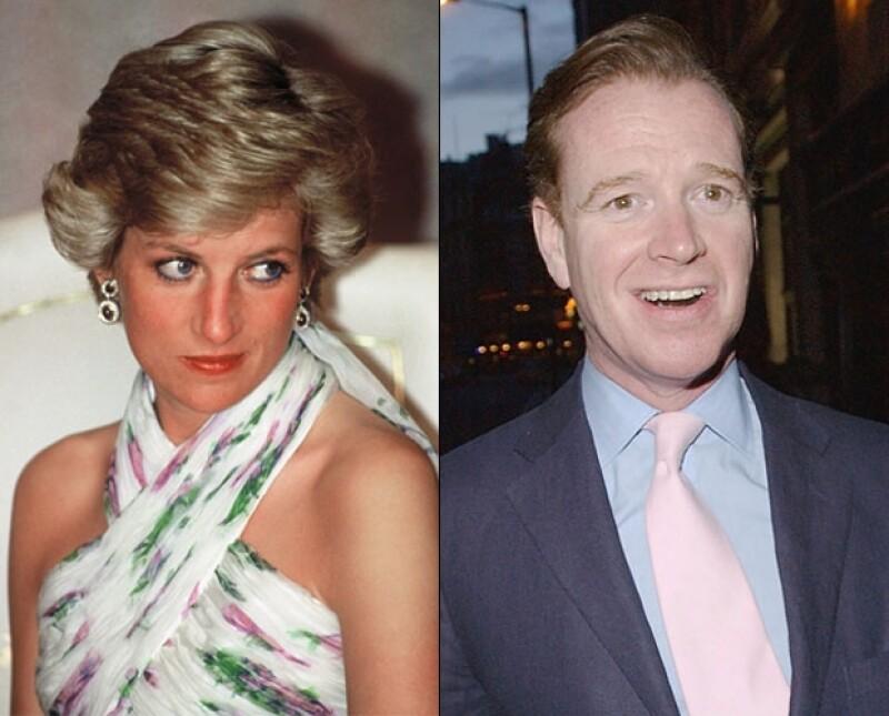 La princesa admitió su romance con James en 1995.