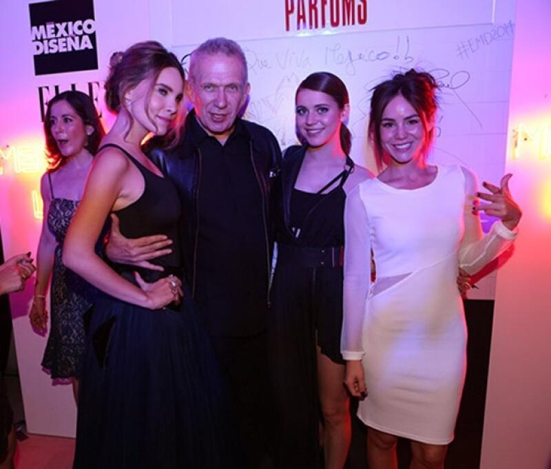 El diseñador viajó a México para ser parte del jurado de ELLE México Diseña.