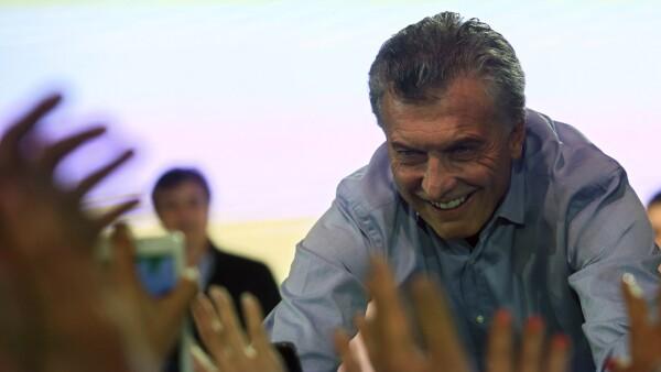 Macri festeja el triunfo de su coalición en comicios legislativos de Argentina