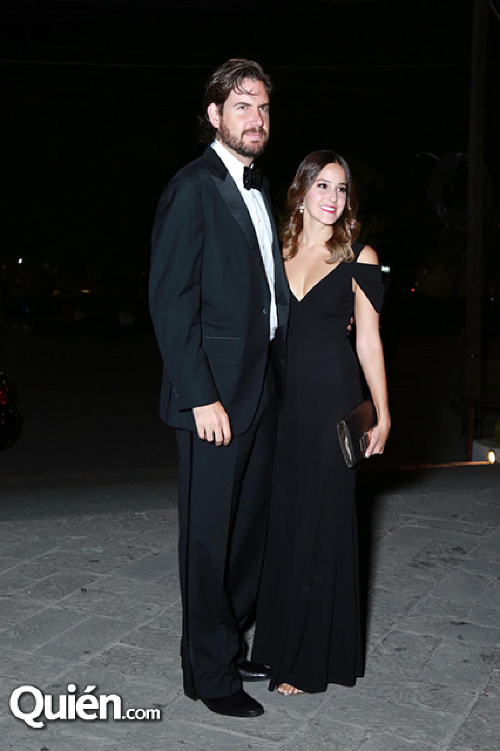 Andrés Treviño y Paulina Madero.