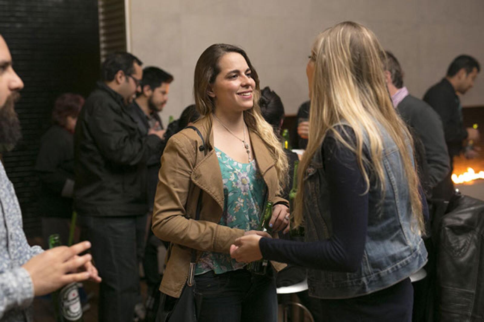 Tamara Carranza y Daniela Saltiel
