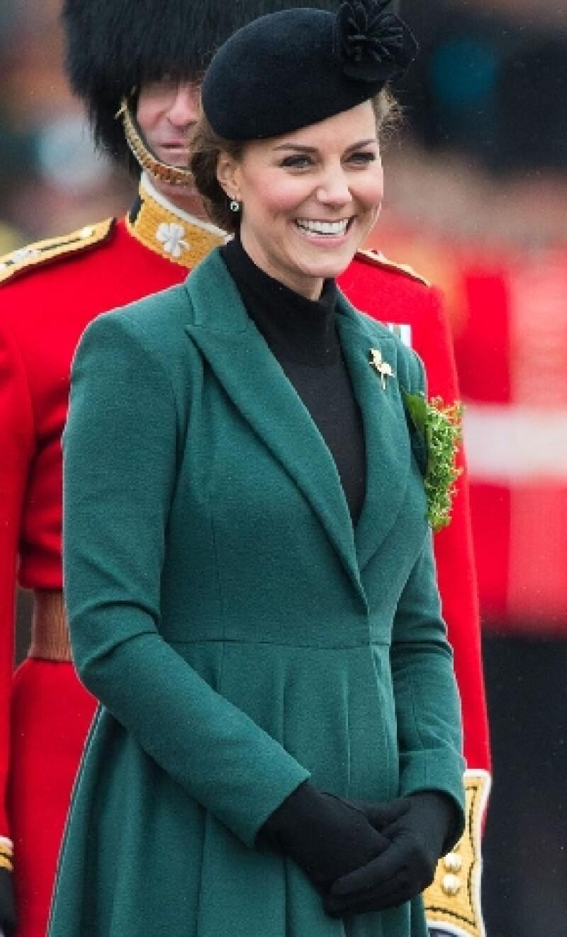 El palacio de St. James confirmó que el nombre de la Duquesa de Cambridge fue registrado con el fin de recaudar fondos para la caridad.