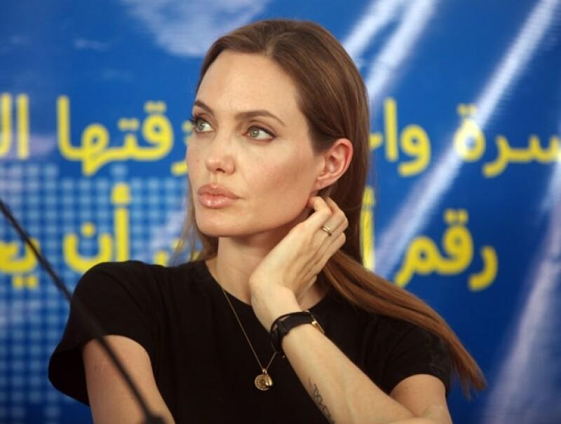 La actriz habló en defensa de los refugiados de guerra que han sido víctima de abusos sexuales y destacó que este tema debería ser prioritario en la agenda del Consejo de Seguridad.