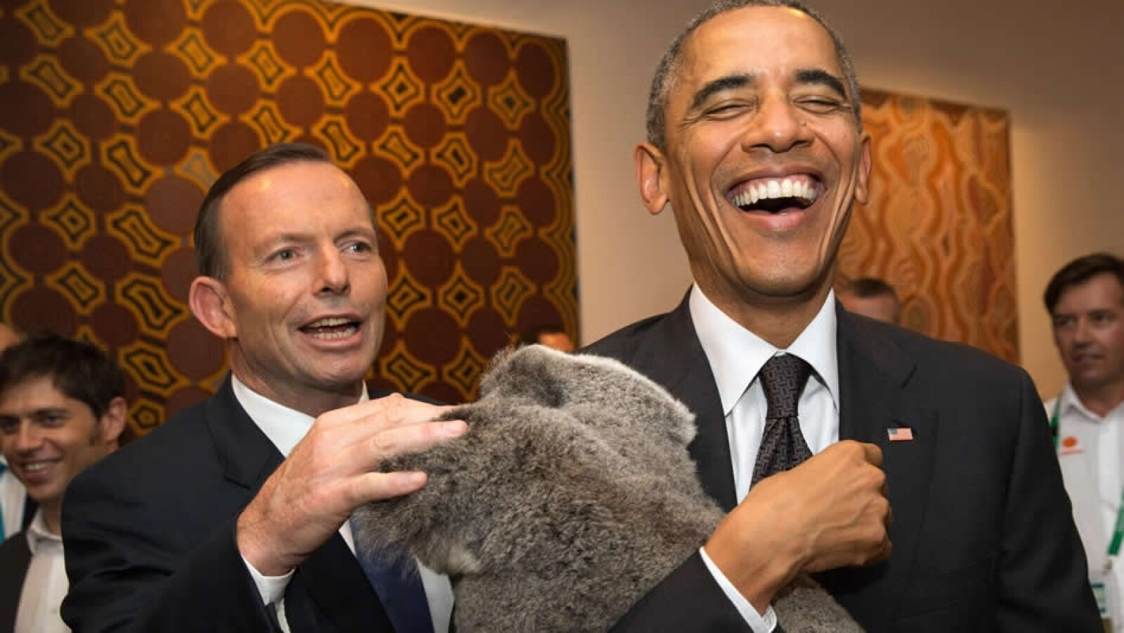 Obama, koala, australia G20