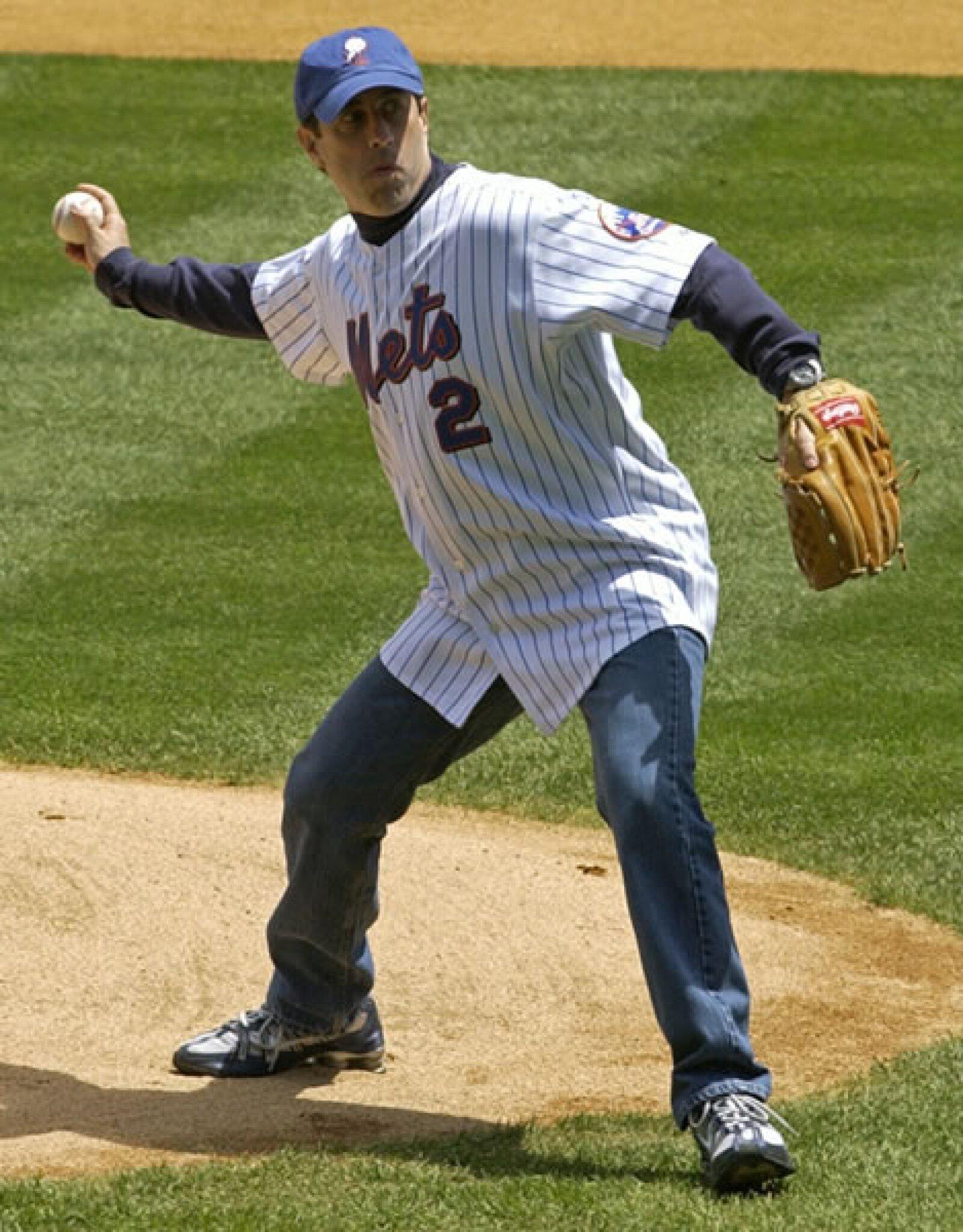 Jerry Seinfeld es un conocido fan de los Mets de Nueva York.
