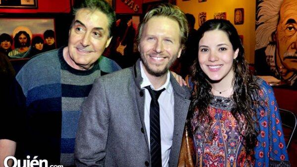 Horacio Saenz,Noel Schajris y Ana Saenz de Hinojosa