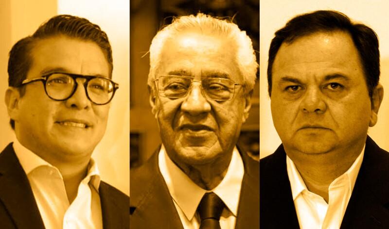 Candidatos a interino en Puebla