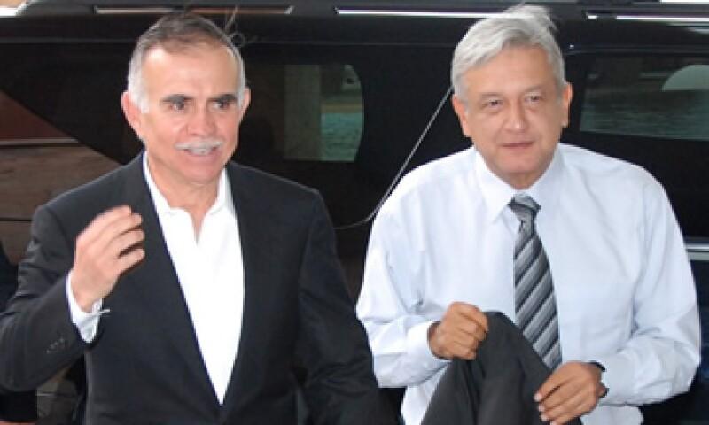 Alfonso Romo hizo público su apoyo a Andrés Manuel en octubre de 2011. (Foto: Notimex)