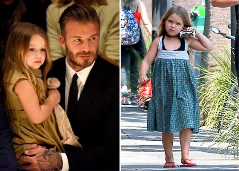 Antes y después de Harper, con solo un par de años de diferencia.