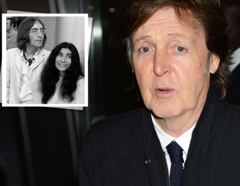 """""""Ella le mostró (a Lennon) otra forma de ser, algo muy atractivo para él. Así que a John le había llegado la hora de partir"""", aseveró el compositor de temas como """"Yesterday"""" y""""Hey Jude""""."""