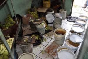 271 personas vivían en condiciones deplorables en el albergue.