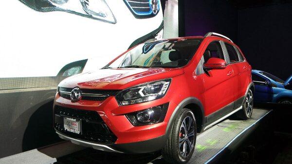 La SUV X25 costará 239,900 pesos.