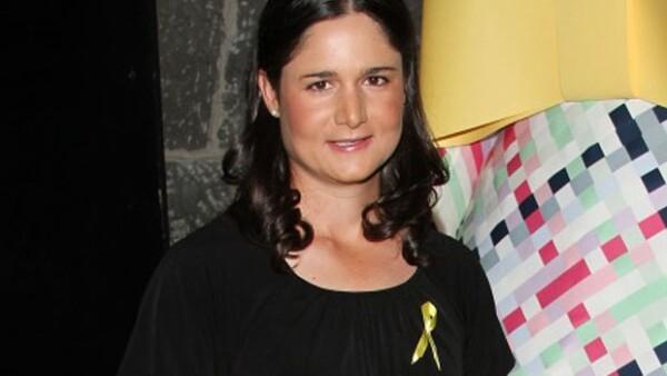 La reconocida golfista y su esposo  Andrés Conesa recibieron este martes en Guadalajara a la hermanita del pequeño Pedro.