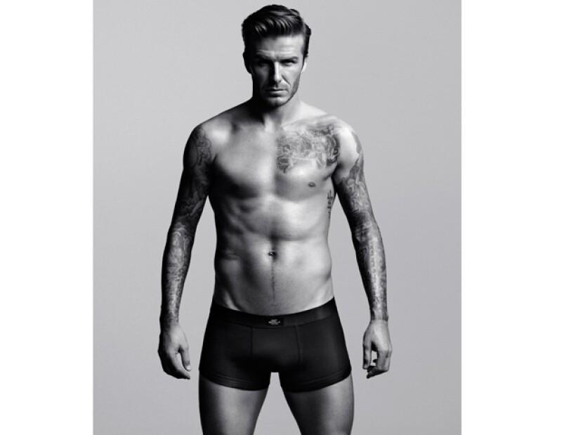 La estrella del equipo Los Ángeles Galaxy aseguró que la campaña H&M, de Armani, será la última en la que aparezca sin ropa.