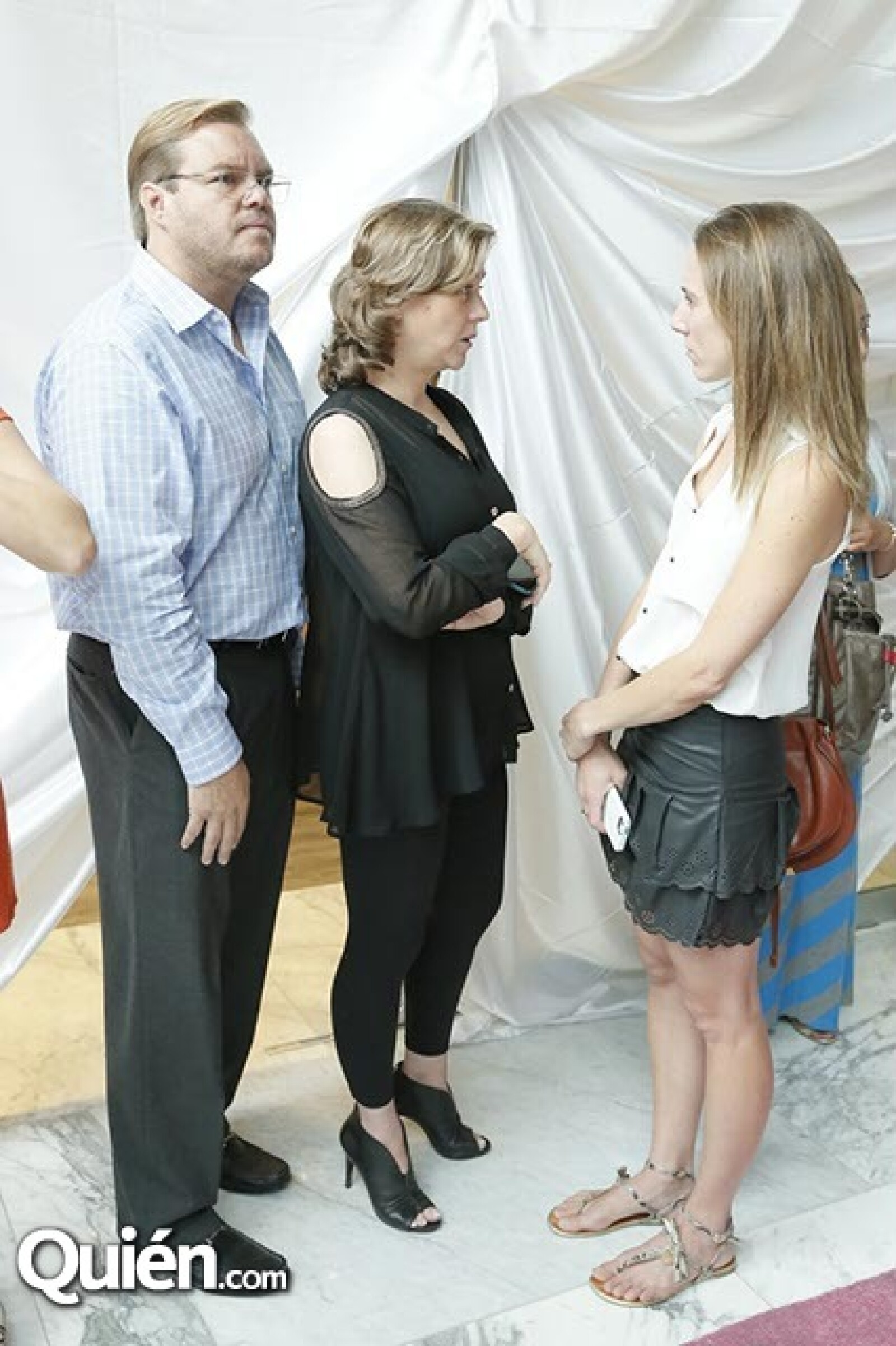 Carlo,Mercedes y Loli Grovas