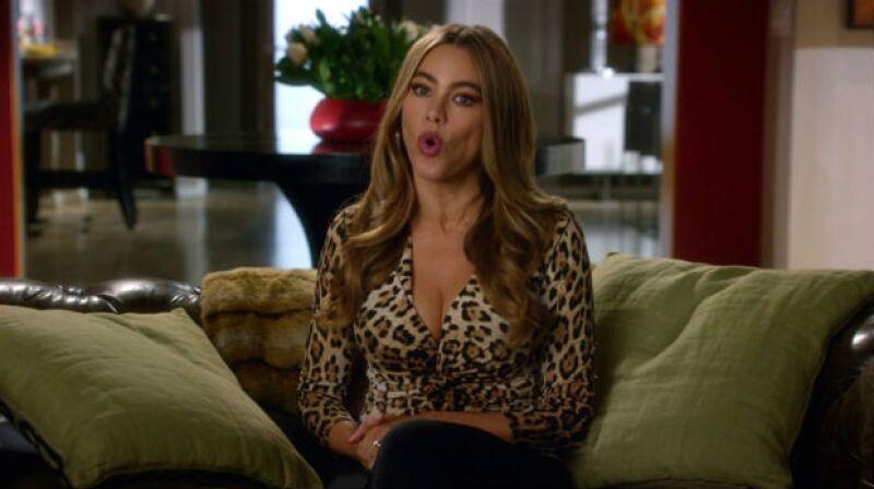 Gloria es el personaje más sexy y ocurrente en la televisión.