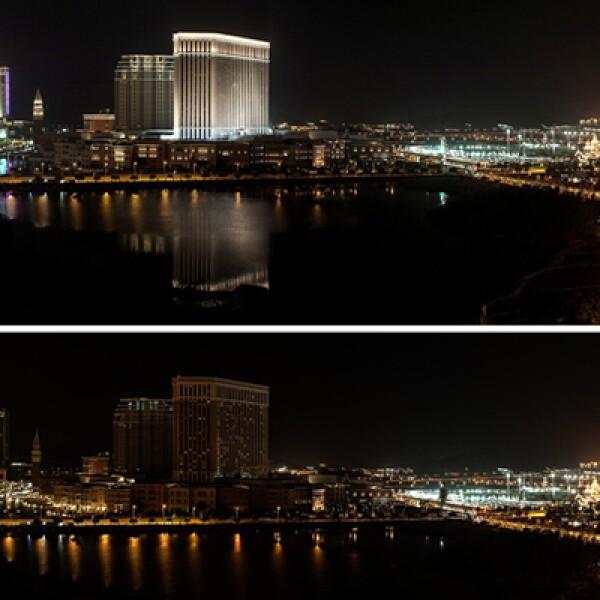Un comparativo de la región administrativa especial china durante la conmemoración este 23 de marzo.