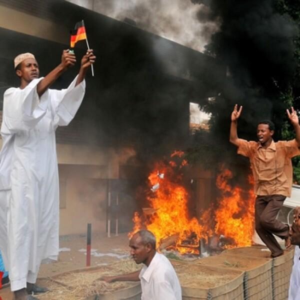 Sudán protesta 1