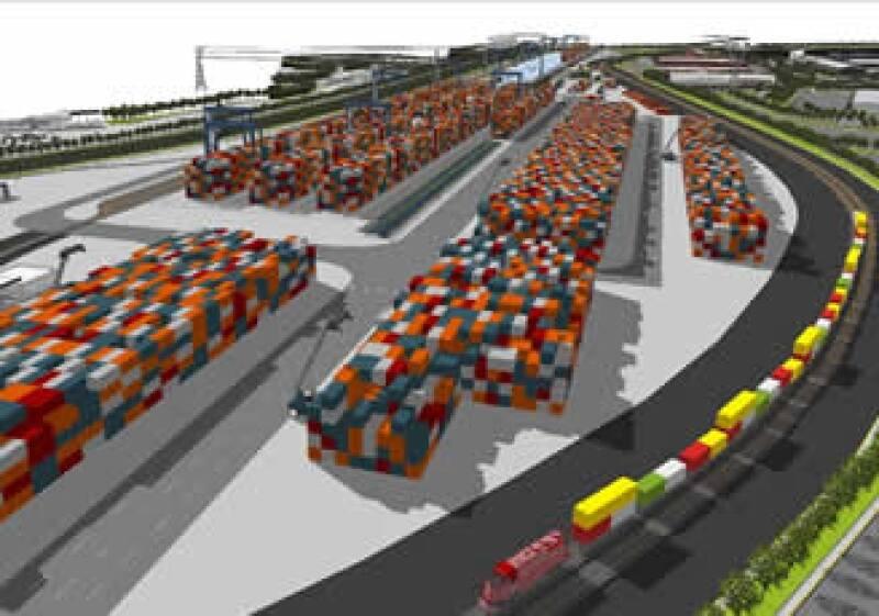 Hutchison Port Holdings (HPH) México y el gobierno del Estado de Hidalgo iniciaron la construcción de la Terminal Intermodal de Carga y del Parque Logístico de la región de Tepeji del Río y Tula. (Foto: Cortesía Hutchison Port Holdings )