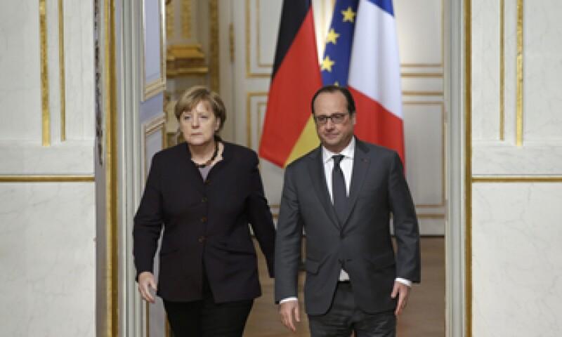 La mandataria alemana aseguró que colaborará con Francia para recuperar la seguridad de Europa. (Foto: Reuters)