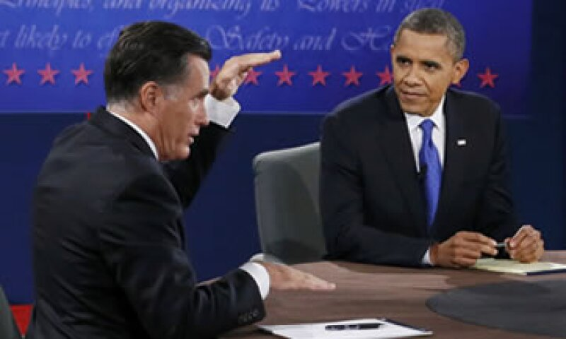 Mitt Romney señaló que el volumen comercial de Estados Unidos