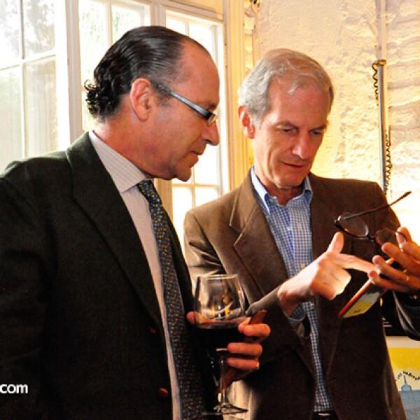 Carlos Fernández del Valle y José Portilla