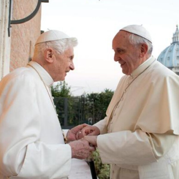 pope francis pope benedict