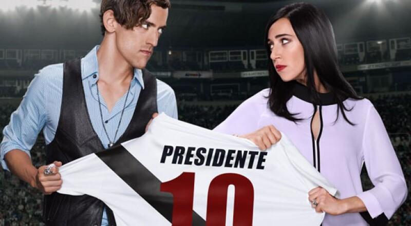Mariana Treviño vs Luis Gerardo en Club de Cuervos.